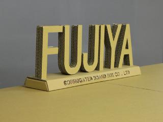 FUJIYA段ボールロゴマーク