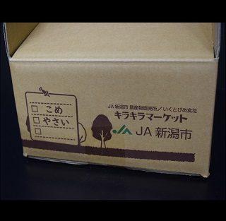 直売所(キラキラマーケット様) 段ボール